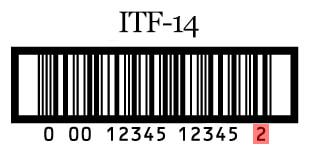 itf 14 com dígito de verificação