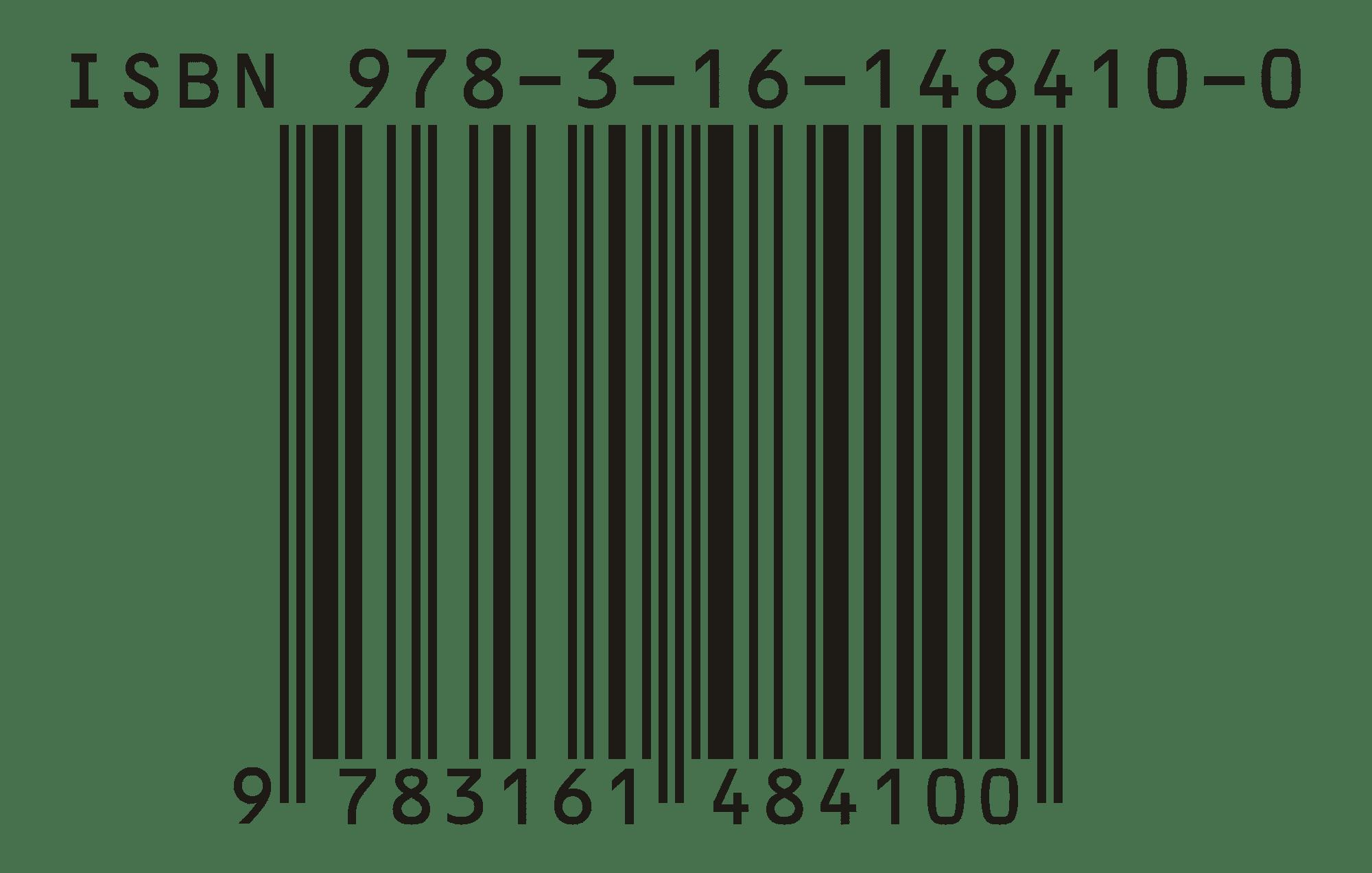 código de barras ISBN